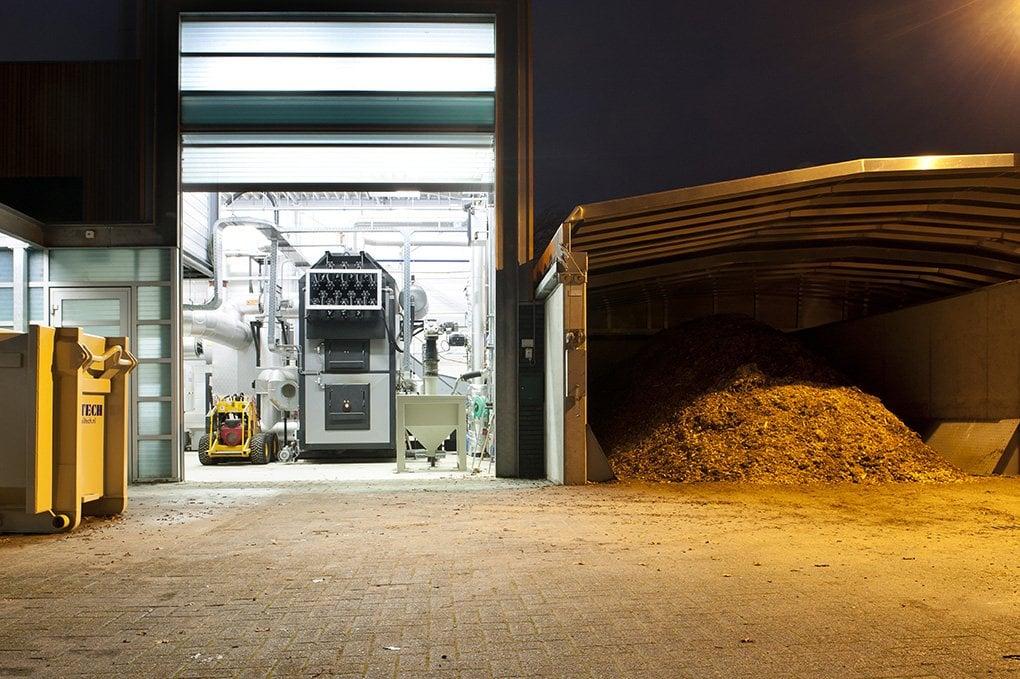 Biomassa voor het ir. Ottenbad