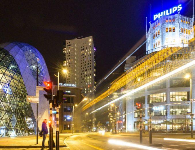 Blob Lichttoren Eindhoven centrum binnenstad