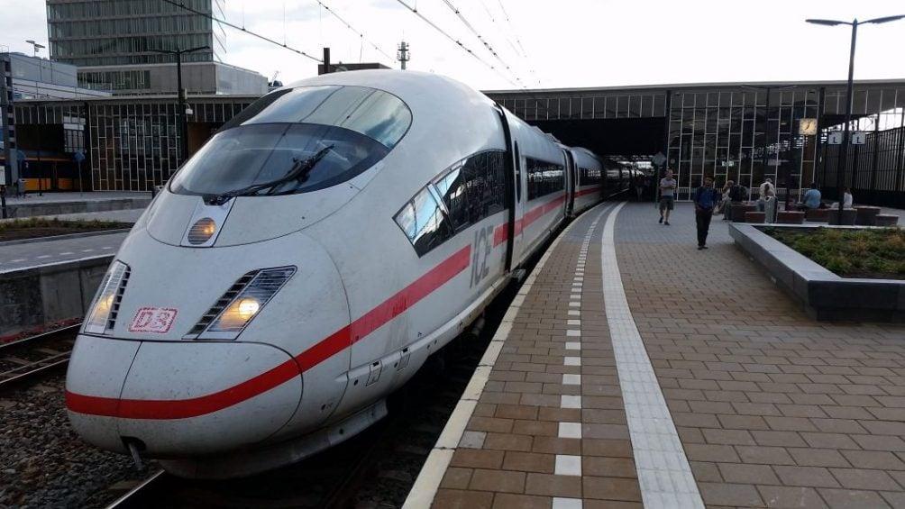 intercity trein Düsseldorf