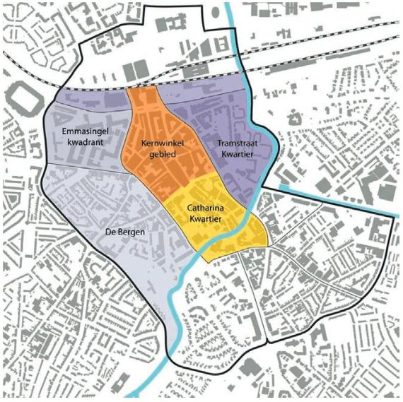 buurten binnenstad districten