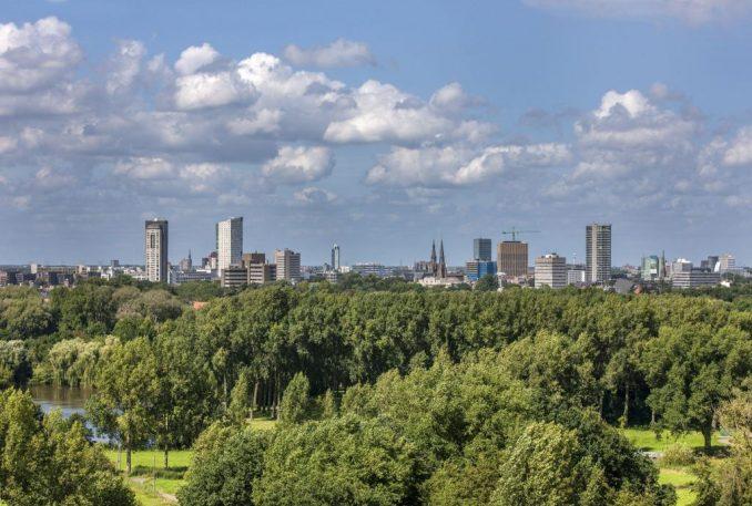 Skyline Eindhoven 8 aug 2016