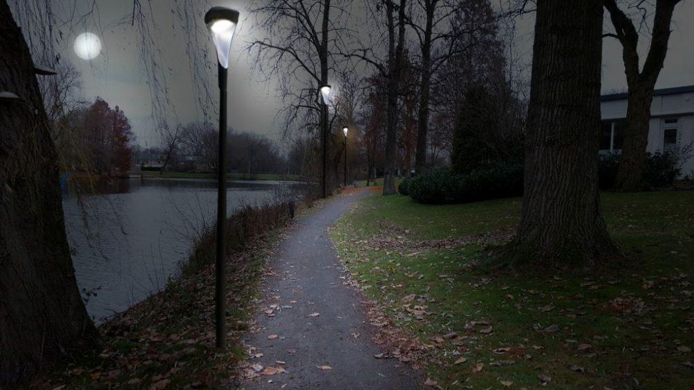 Eckart hardlooproute, looproute, smart light, jouwlichtop040