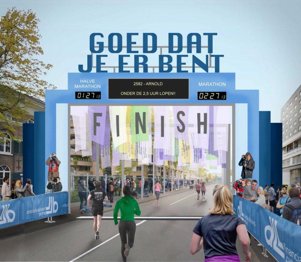 Jelle Mastenbroek´s Finish Marathon Eindhoven