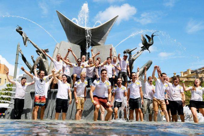 World Solar Challenge Stella Vie bij finish