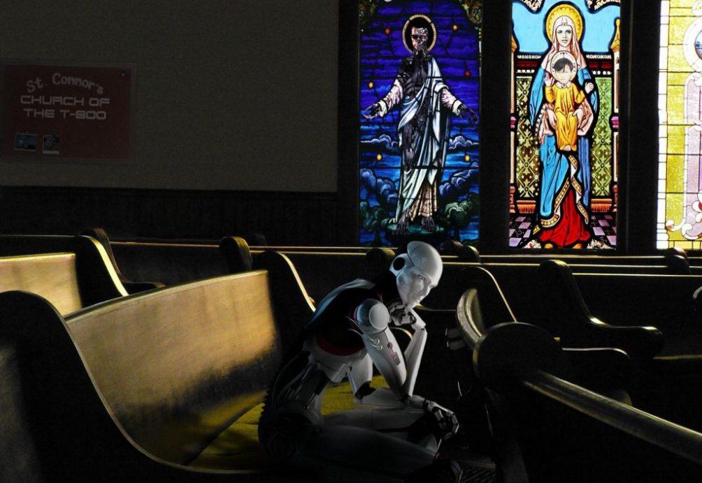 robot religion