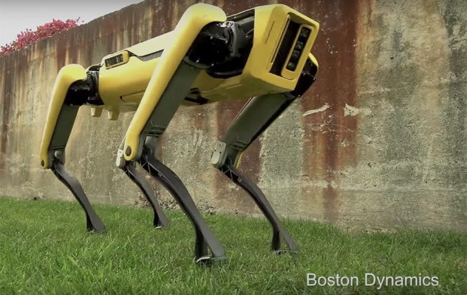 boston robot