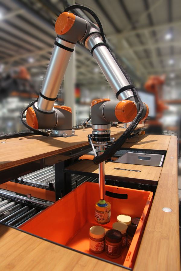 smart robotics vanderlande