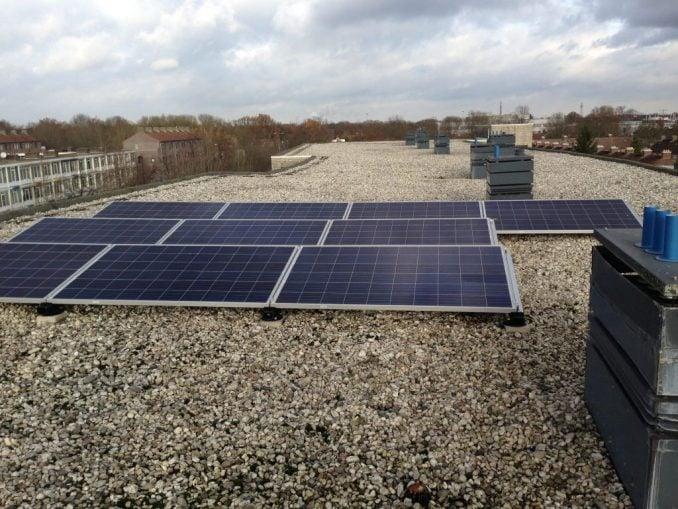 zonnepanelen Kard de Jongweg woonbedrijf