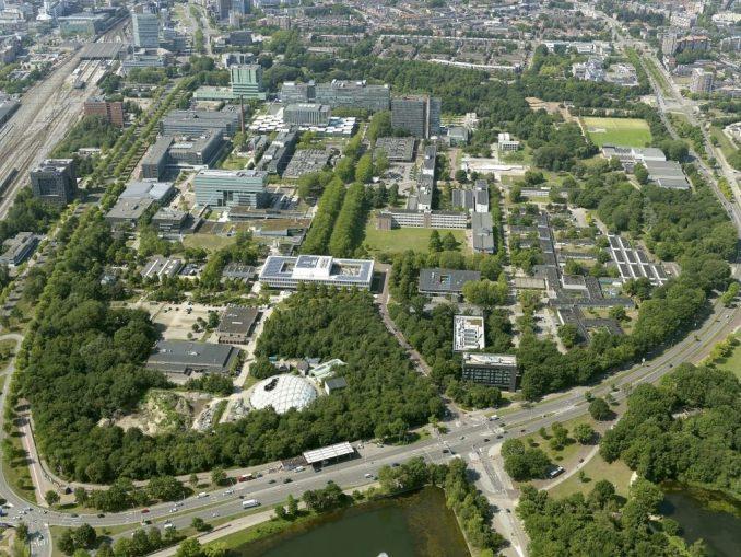 TU/e luchtfoto TU Eindhoven