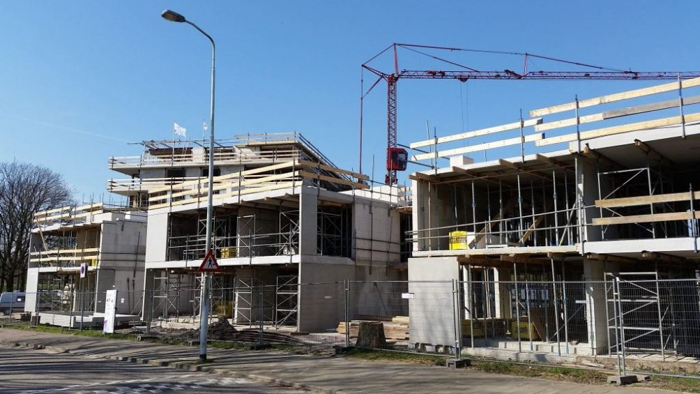 nieuwbouw gebouw woning aanbouw bouw 1
