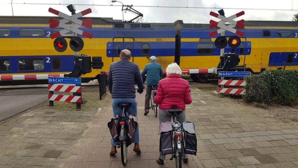 Trein fiets Tongelre Eindhoven