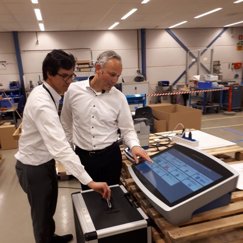 VDL Smartmatic stemprinter
