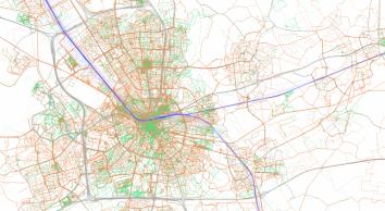 mobiliteit kaart Eindhoven