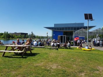 High tech Campus Eindhoven zomer