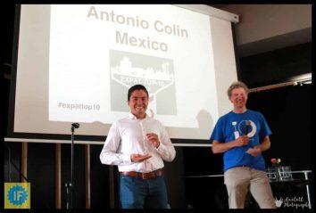 Expat Event 2018 Antonio Colin
