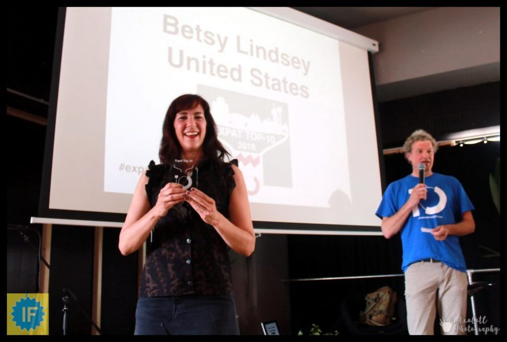 Expat Event 2018 Betsy Lindsey