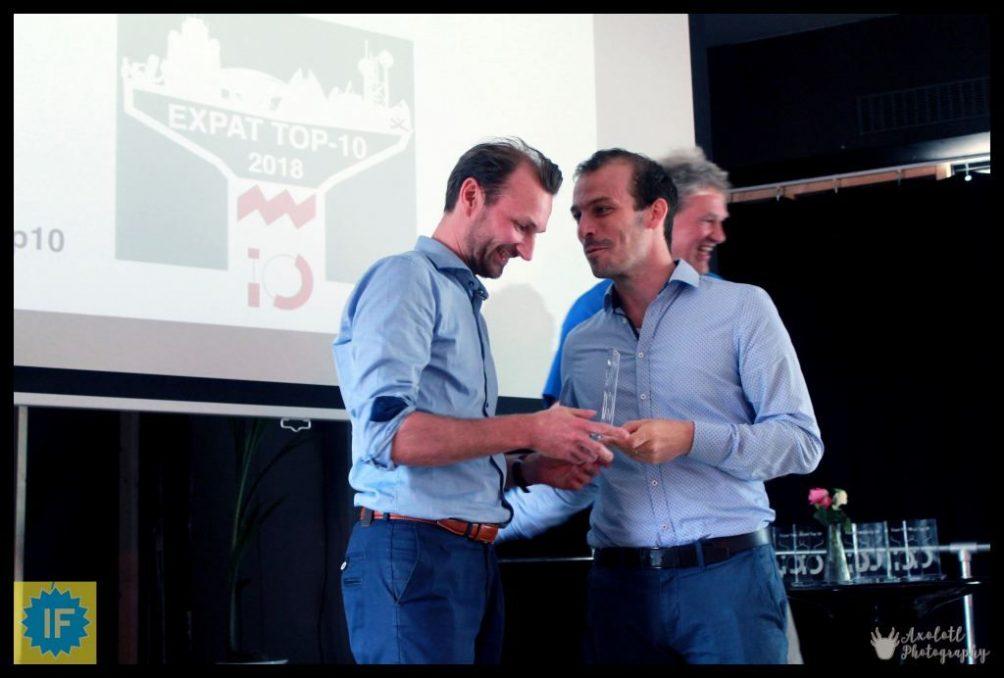 Expat Event 2018 Kris de Prins Stijn Steenbakkers
