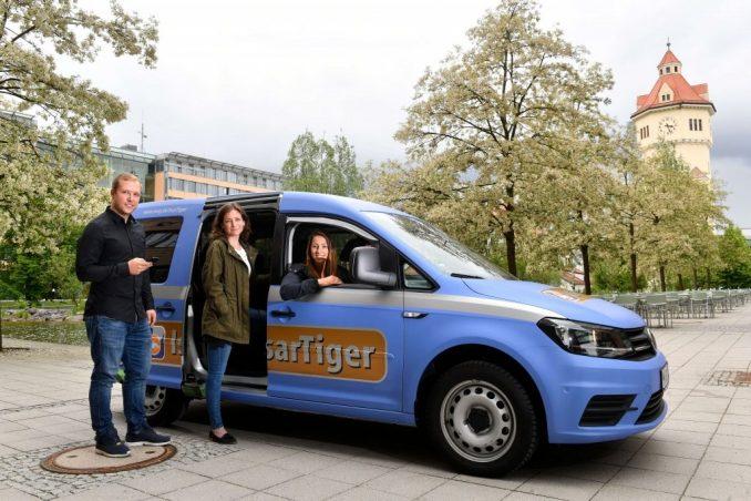 IsarTiger - Ridsharing-Angebot für München