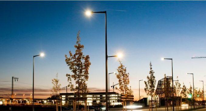 Intelligente Lichtmasten München