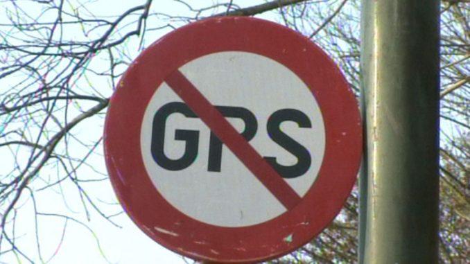 GPS interdit