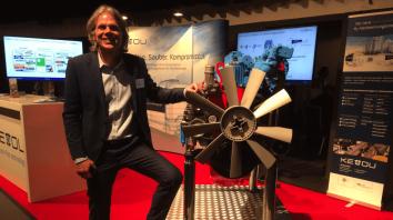 Thomas Korn mit Wasserstoff-Verbrennungsmotor