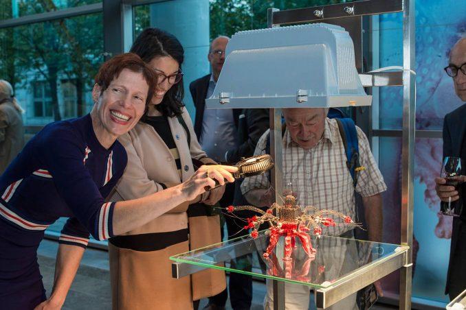 Smart Materials - Kunstausstellung im Fraunhofer Haus