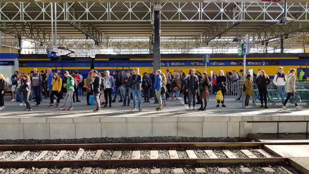Trein station Eindhoven