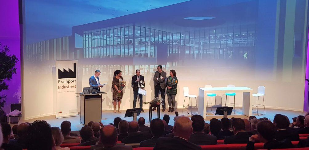 Frank Hendriks met Wiliam Pijnenburg Award