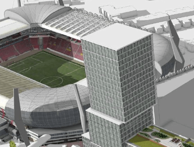 PSV stadion woningen