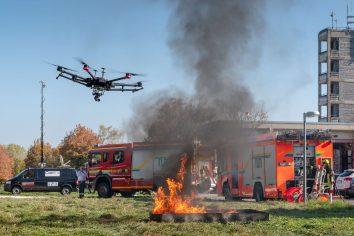 Multicopter im Einsatz