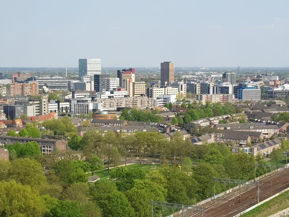 Stad Eindhoven skyline binnenstad centrum