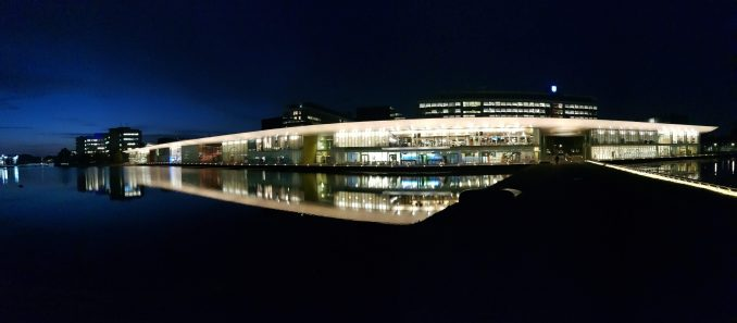 High Tech Campus by night