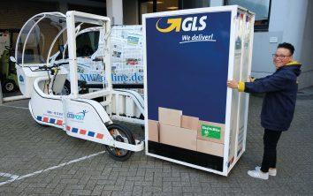 e-Bike im Einsatz-GLS