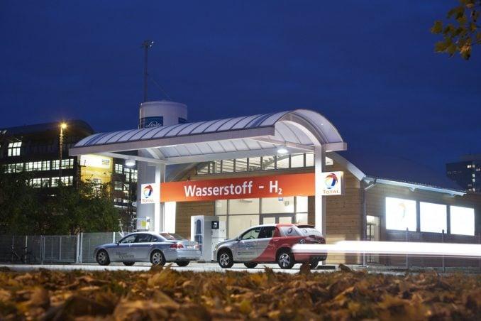 Waterstof Tankstelle Holzmarktstrasse, Berlin