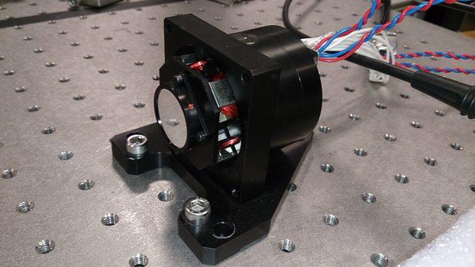 Kippspiegel-System zur Manipulation von Laserstrahlen