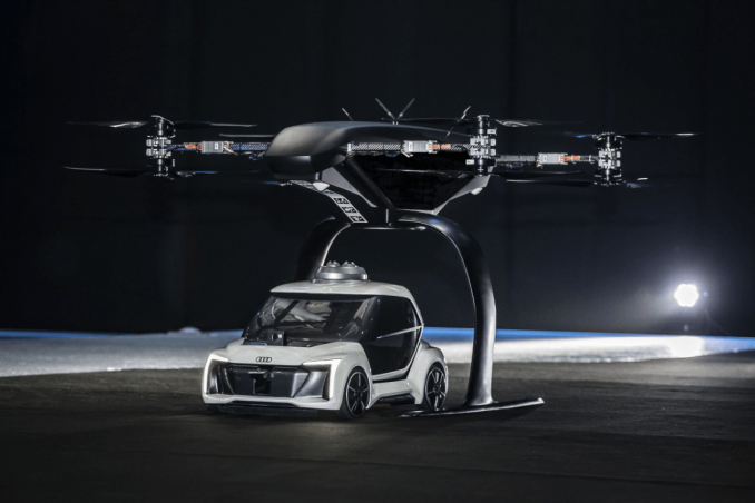 flying taxi drone car