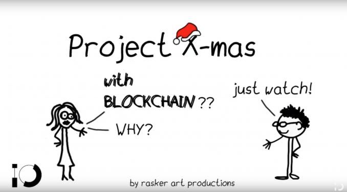Blockchain Santa Albert Jan Rasker