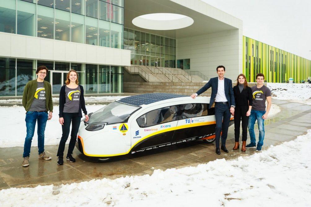 Solar team naar BIC
