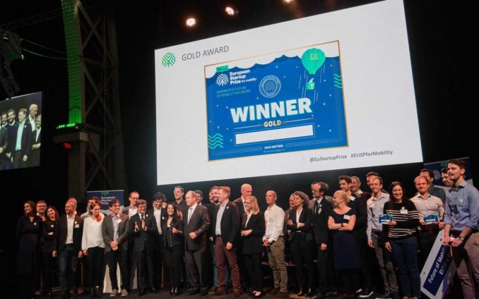 European Start-up Prize for Mobility