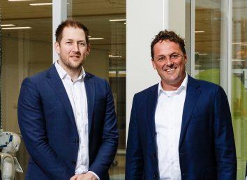 Niels Dusee (BIC/SDK) en Bas Kuper (Siemens)