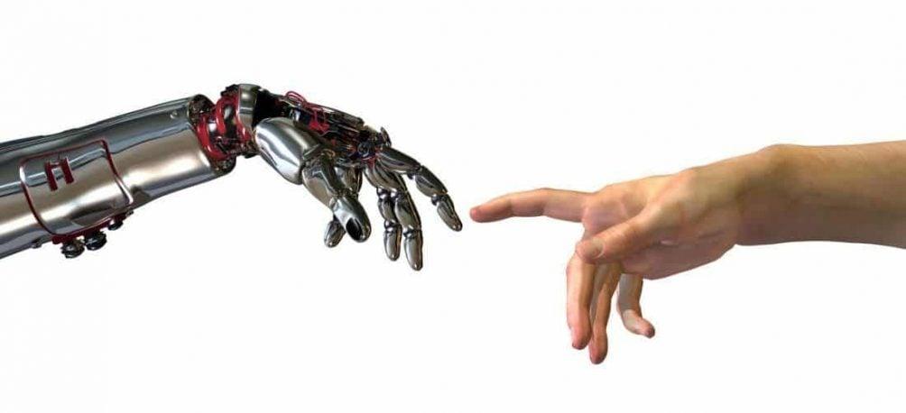 human robots hand