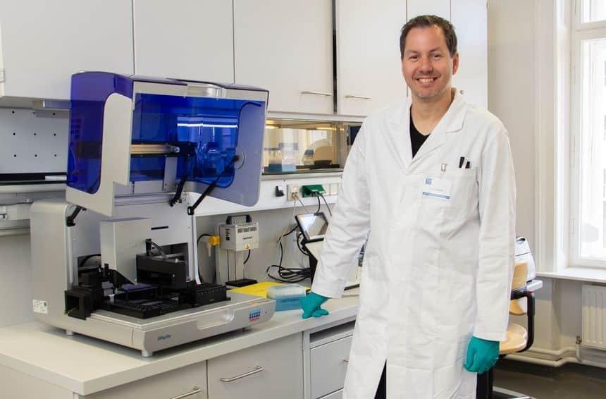 Mikrobiom Dr. Georg Reischer TU Wien (c) TU Wien