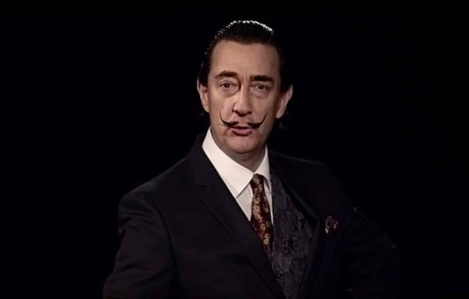 Salvador Dali als Deepfake