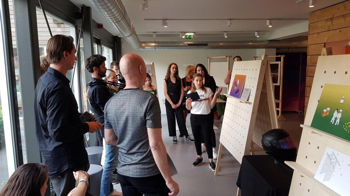 Fontys International Lifestyle Studies HuBot Project Tilburg