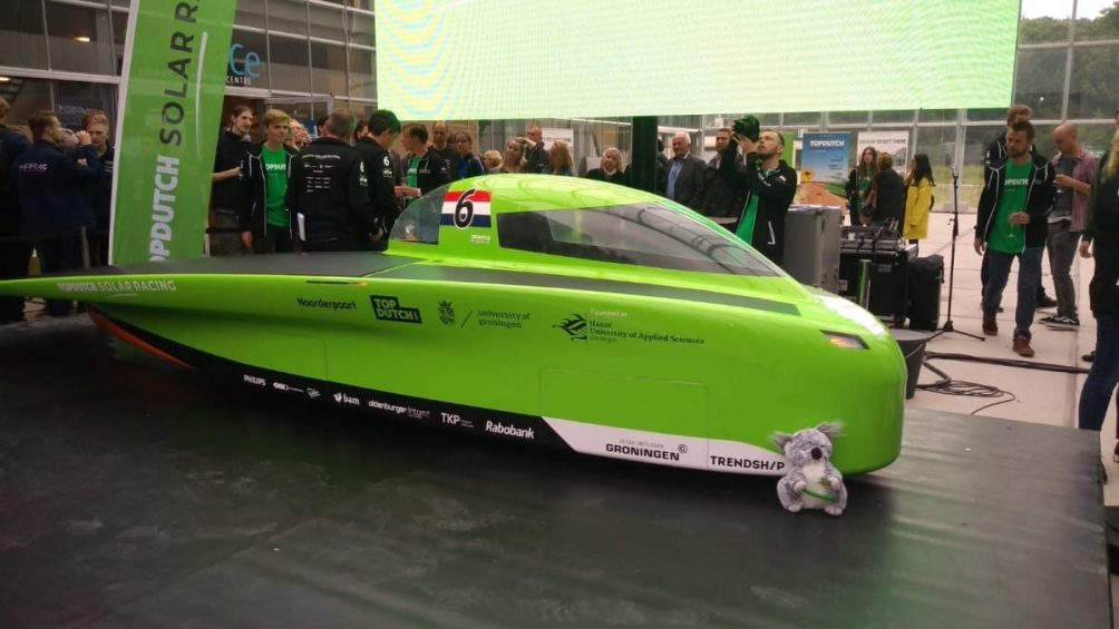 TopDutch Solar Car