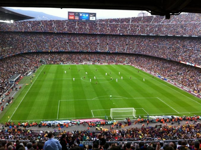 estadio Camp Nou © Image by FrodeCJ from Pixabay