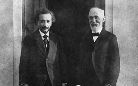 Albert Einstein en Hendrik Lorentz