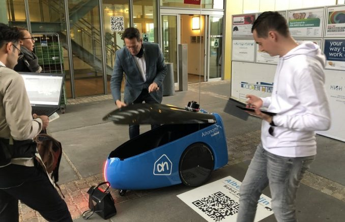 Albert Heijn AGV robot