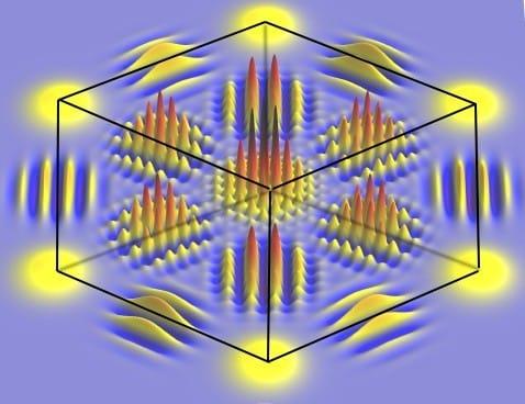 Multidimensionaler Hyper-Quantenwürfel (c) Equs