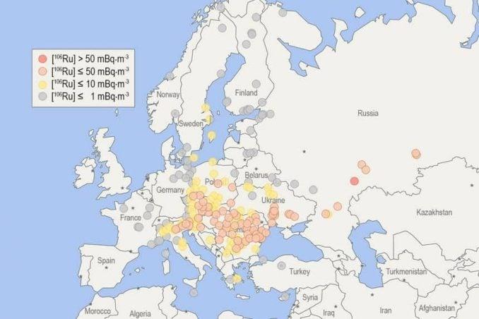 Radoaktive Wolke - Ruthenium Konzentrat (c) TU Wien